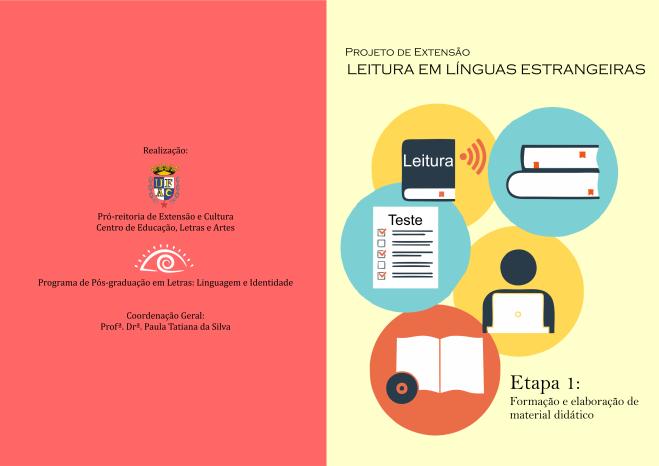 Projeto Leituras em Línguas Estrangeiras frente