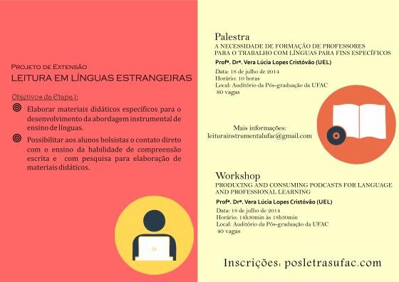 Projeto Leituras em Línguas Estrangeiras verso