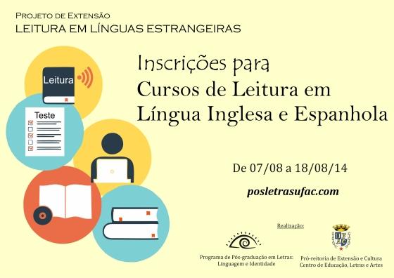 Projeto Leituras em Línguas Estrangeiras