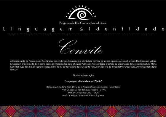 Convite Ivanilda