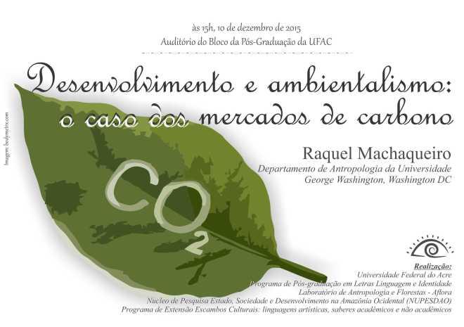 Conferência Desenvolvimento e ambientalismo