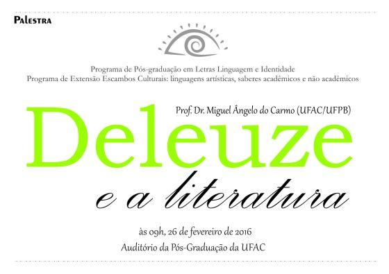Deleuze e a literatura ok