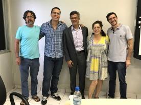 2017 - Defesa de dissertação de Francisco Rodrigues Pedrosa