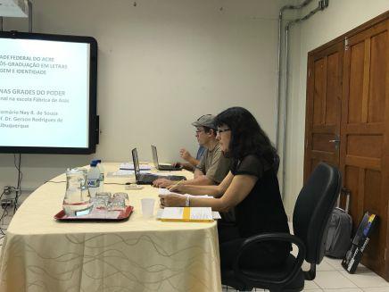 2017 - Defesa de dissertação de Romário Ney Rodrigues de Souza