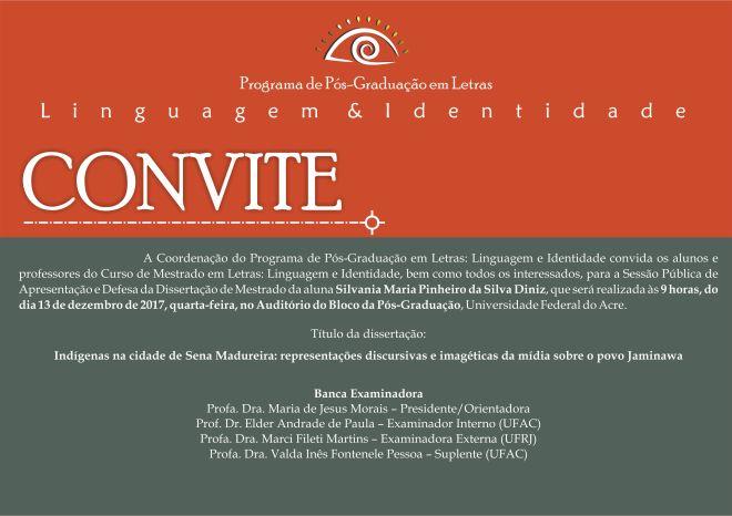 Convite Defesa Silvania
