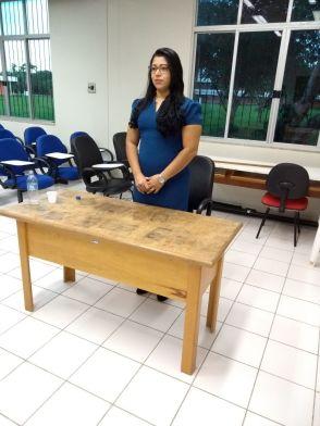 2018 - Defesa de Dissertação de aluna Alyne Brandão Alves