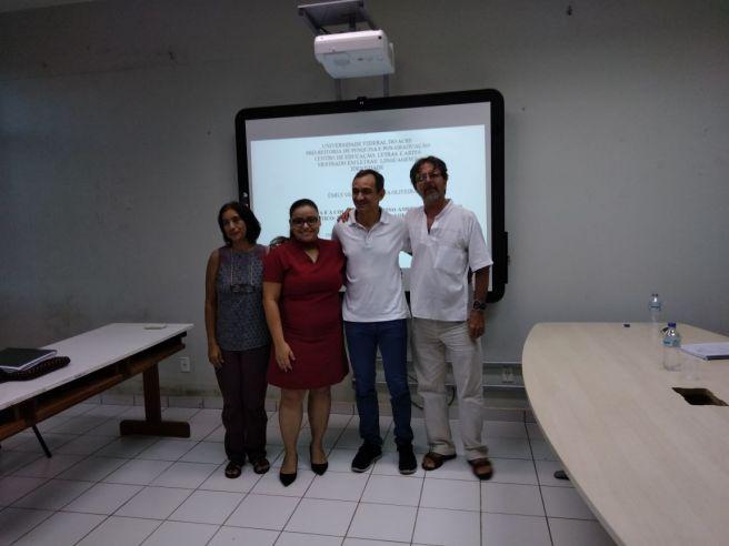 2018 - Defesa de dissertação de Emily Gerusa da Silva Oliveira