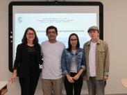 2018 - Defesa de dissertação de aluna Isamayra Junqueira de Lima