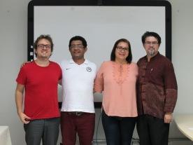 2018 - Defesa de dissertação de Valdirene Nascimento da Silva Oliveira (Kamara Kymio)