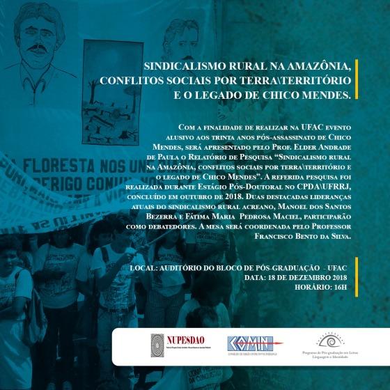 CARTAZ CHICO UFAC II