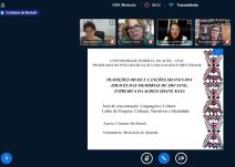 2020 - Defesa de dissertação de Cristiane de Bortoli